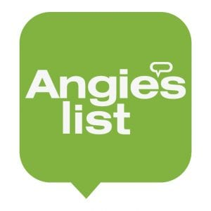 angie's list logo in a green bubble