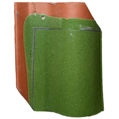 Brookville Green Spanish Clay Roofing Tile