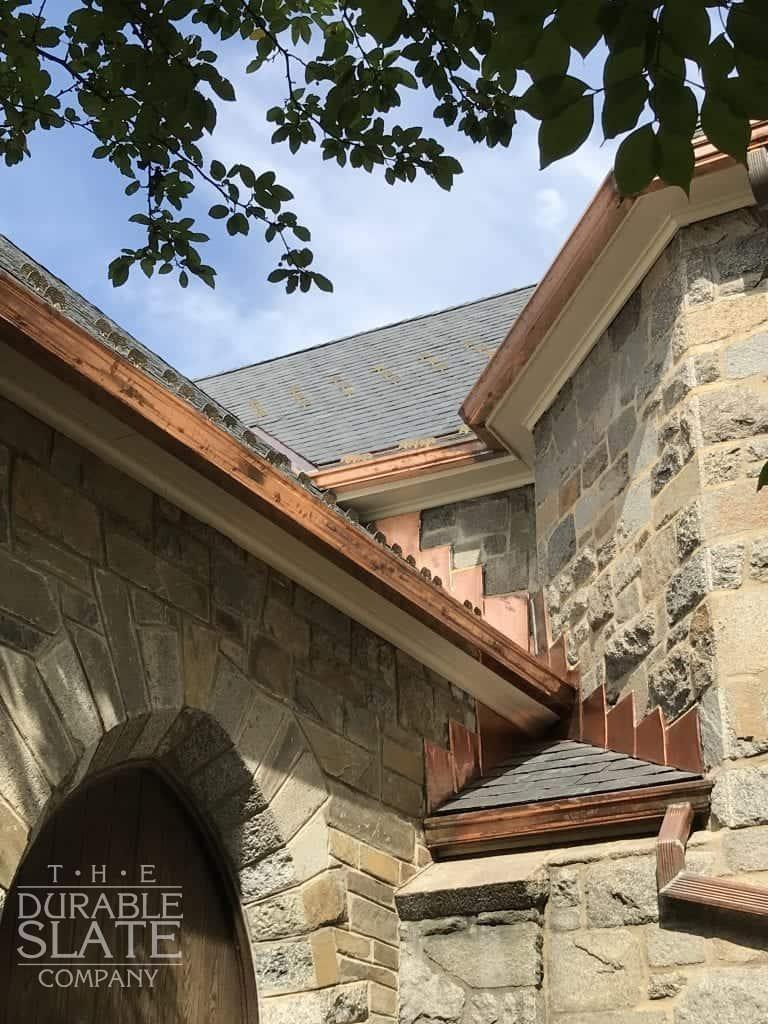all saints chevychase copper gutters