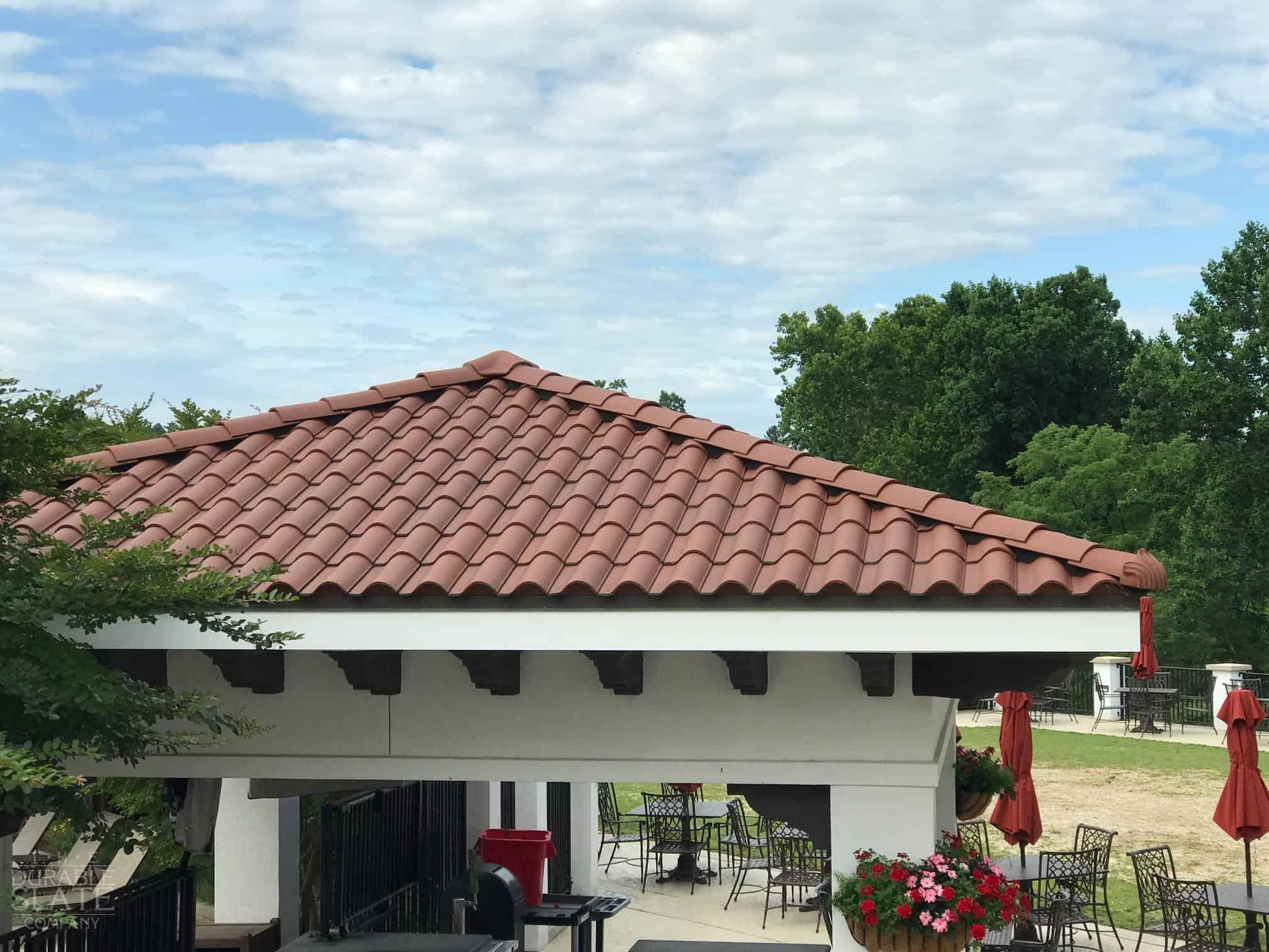 Congressional Country Club, Bethesda, MD spanish clay-roofing tile