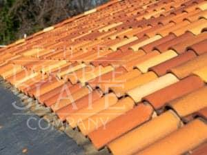 red clay roofing tiles