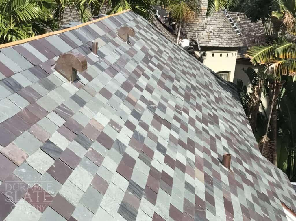 coral gables vermont mixed slate roof