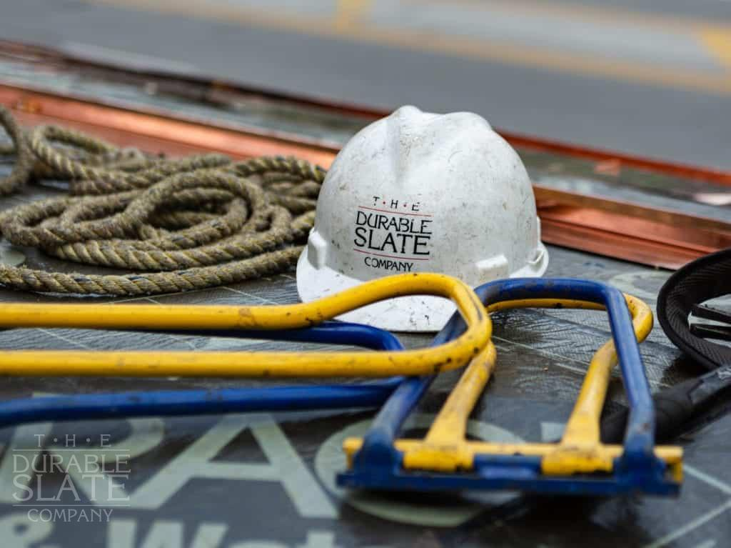 historic roofing services, including slate, clay tile, copper, and copper gutters.